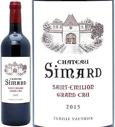 2015 シャトー シマール 750ml サンテミリオン特級 赤ワイン コク辛口 ワイン ((AKIS0115))