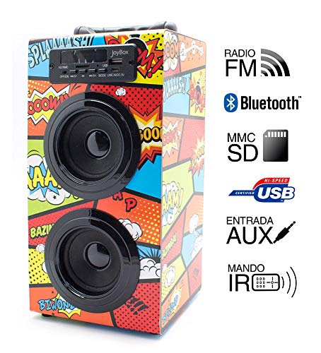 Altavoz Reproductor JoyBox Bluetooth Comic