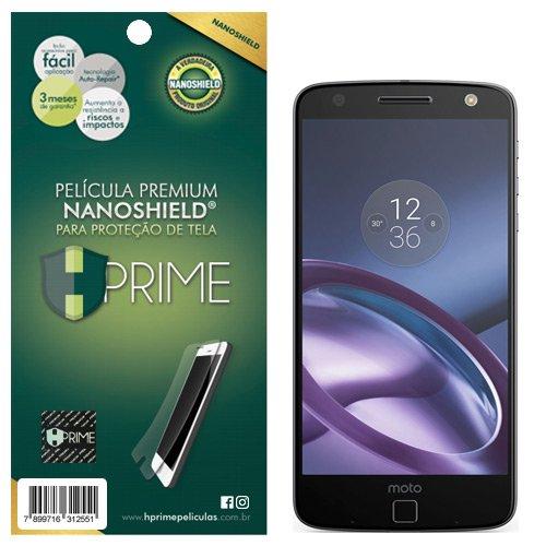 Pelicula HPrime NanoShield para Motorola Moto Z, Hprime, Película Protetora de Tela para Celular, Transparente