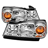 Saturn Vue Crystal Headlights Chrome Housing With Clear Lens