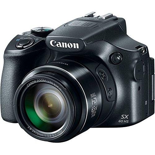 Canon Powershot SX60 16.1MP Digital Camera 65x Optical Zoom Lens...