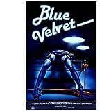 UpperPin Blue Velvet Movie Poster 1986 Silk Poster