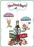Calendario perpetuo Coca-Cola: When Friends Drop In! Food and Coke
