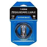 Kit de cables de pedalera sin soldadura BOSS BCK-2 – Cable de 0,5 m + 2 conectores de 1/4' en ángulo recto y recto para formar un cable a medida