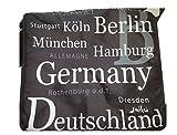 Tasche mit Städte München Berlin Hamburg Köln Dresden Germany