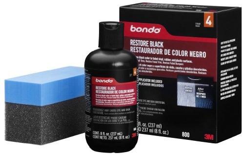 Bondo 800 Black Restore - 8 fl. oz.