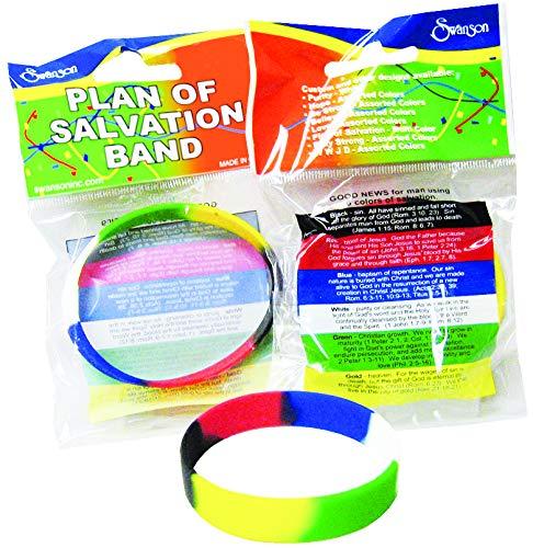 Plan of Salvation Silicone Wrist Band Bracelet