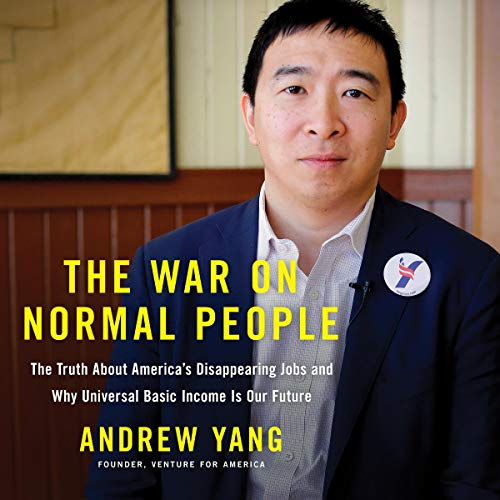 The War on Normal People audiobook cover art