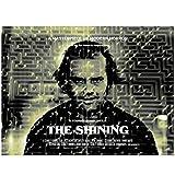 Stephen King The Shining Movie Classic Horror Movie Poster Art Canvas Decoración del hogar...