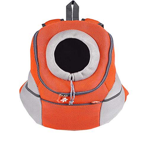 Tragbarer Rucksack Für Haustiere Orange 38 * 20 * 42