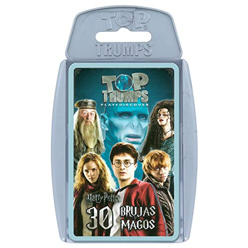 HARRY POTTER Top Trumps 30 Magos Hechiceros (12241), Multicolor (Eleven Force 1)