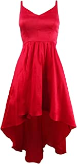 Women's Satin High-Low Gown
