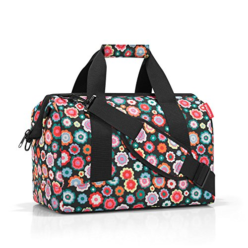 Reisenthel Allrounder M Bagage Cabine, 40 cm, 18 liters, Multicolore (Happy Flowers)