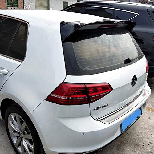 Alerón de techo trasero negro brillante, alerón de coche, alerón de Material ABS para Volkswagen Golf 7 7,5 MK7 MK7.5 R Line 2014 15 16 17 18