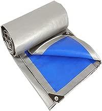 ZGQ Lonas Impermeables Exterior Transparente 12Mil PVC Lona De Protecci/ón Multiusos Resistente Al Agua Durable