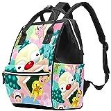 WJJSXKA Mochilas Bolsa de pañales Laptop Notebook Mochila Viaje Senderismo Daypack para Mujeres Hombres - parque de atracciones