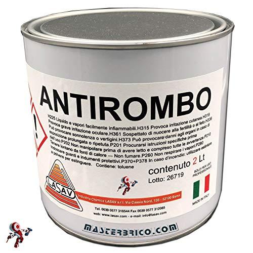 Antirombo sottoscocca per auto da 2 litri antirombo per auto nerovernice antirombo per auto