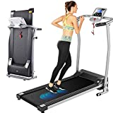 ANCHEER Treadmill,Folding Electric Treadmills for Home,Exercise Machines with LCD Monitor & Heart Rate Sensor Motorized Running Walking Jogging Exercise Fitness for Home Gym.