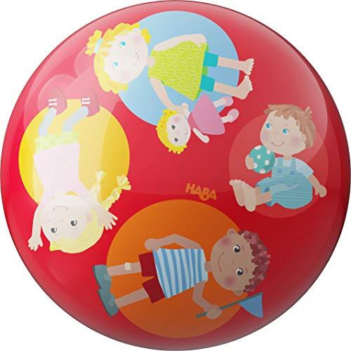 HABA 305998 Ball Kindergarten 22 cm PVC Spielball Indoor/Outdoor