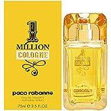 Paco Rabanne 1 Million Cologne Eau de Toilette Spray for Men, 2.5 Fl Oz