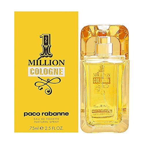 Paco Rabanne One Million Cologne homme/men, Eau de Toilette, Vaporisateur/Spray, 1er Pack (1 x 75 ml)