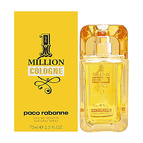 Paco Rabanne One Million Cologne homme/men, Eau de Toilette, Vaporisateur/Spray, 1er Pack (1 x 75 ml)