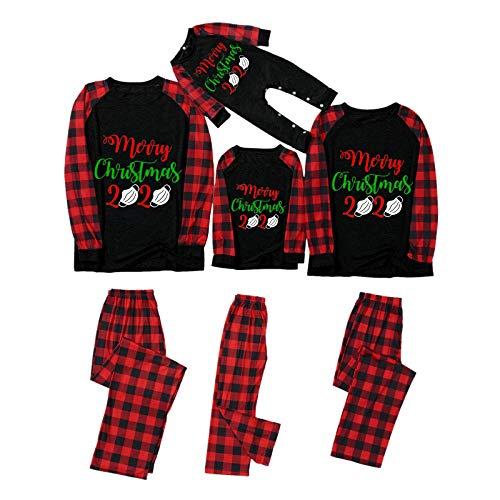 Familien-Weihnachtspyjamas-Sets 2020 Personalisierte QuarantäNe-NachtwäSche 2021...