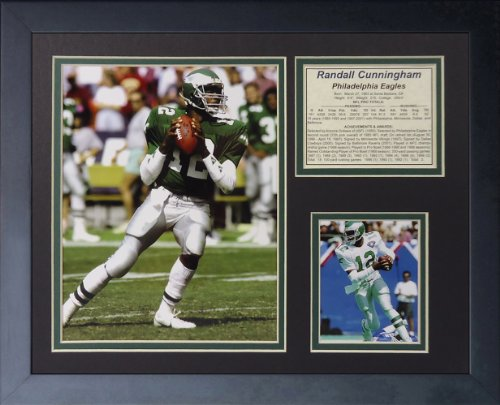 Randall Cunningham 11' x 14' Framed Photo Collage by Legends Never Die, Inc.