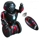 ThinkGizmos Ferngesteuerter Balance Spielzeug-Roboter für Kinder – Intelligenter, interaktiver RC-Roboter (geschützte Marke) (Black & Red)
