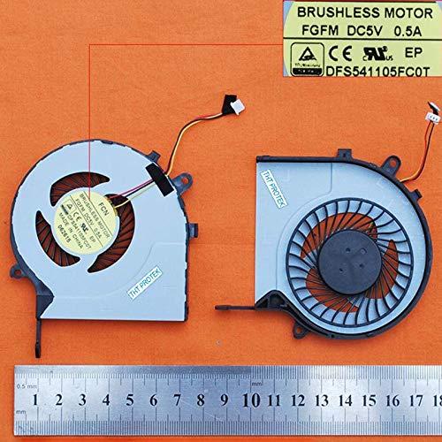 Kompatibel für Toshiba Satellite L50-C L55-C P50-C S55-C S55 Lüfter Kühler Fan Cooler