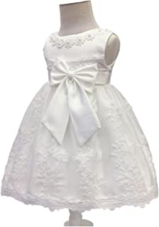 Baby Flower Girls White Dress Christening Baptism Wedding Easter Bonnet Party 18 Be Novel In Design Clothing, Shoes & Accessories