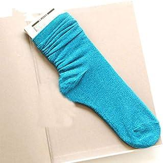 Calcetín de algodón para Mujer Calcetines de algodón para Mujer Calcetines de Plata Dorados Brillantes Coloridos Calcetines de Mujer Montones Suaves
