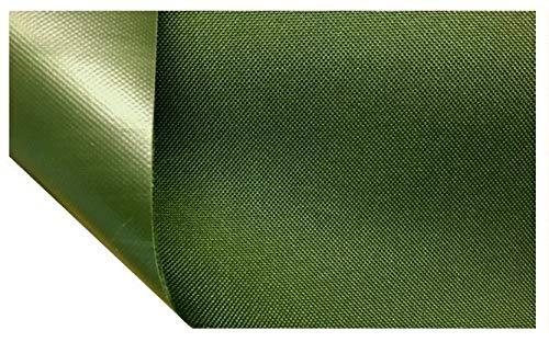 Heavy Duty Tough 100% Waterproof AQUATUF SD 600D Outdoor Canvas Fabric Material Cover SEAT (Dark Olive Green)