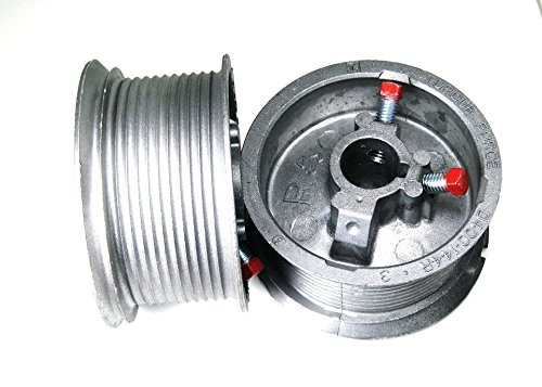 Best Bargain Garage Door Cable Drums for up to 12' High Door, 400-12 (Pair)