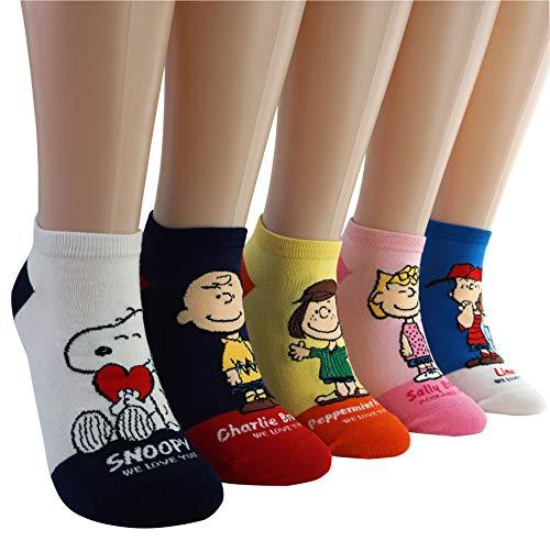 DASOM Snoopy Socken Schöne Frauen Erdnüsse