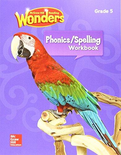 Reading Wonders Spelling & Phonics Workbook, Student Edition Grade 5