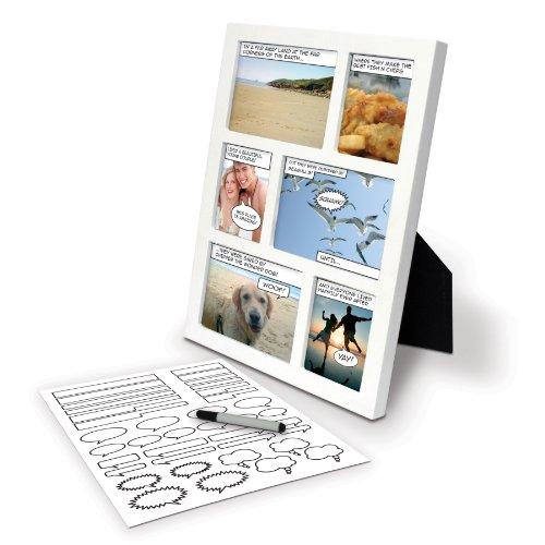 Spinning Hat Comic - Marco para Fotos con Adhesivos para Personalizar