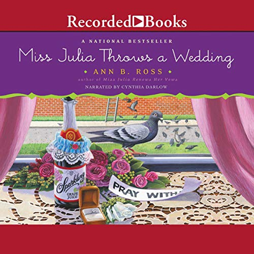 Couverture de Miss Julia Throws a Wedding