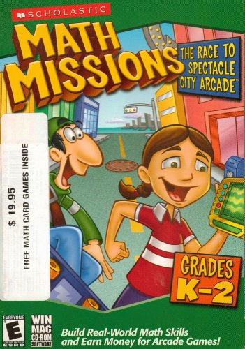 Math Missions: The Race to Spectacle City Arcade with Card Game