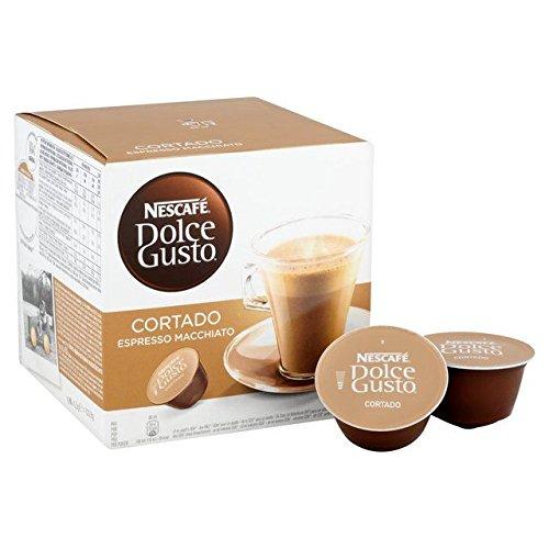 Nescafe Dolce Gusto Cortado Espresso Macchiato Pods - 16 per pack (0.35lbs)