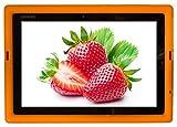 Bobj Silikon-Hulle Heavy Duty Tasche für Lenovo IdeaPad Miix 310 - BobjGear Schutzhulle (Orange)