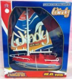 Reel Toys REELTOYS1443Windy elettrica Barca a Vela Modello