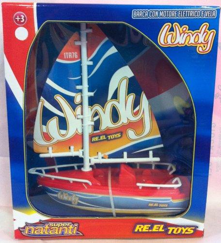 Bobine Toys Reeltoys1443 Windy électrique voilier Modèle