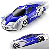 Wall Climbing Remote Control Cars , Rc Climbing Car Toys Dual Mode 360°Rotating Gravity Defying Rc Car Rechargeable Toy Cars for Wall with Led Lights Birthday & Gifts for 3 4 5 6 7 8-16 Years Old