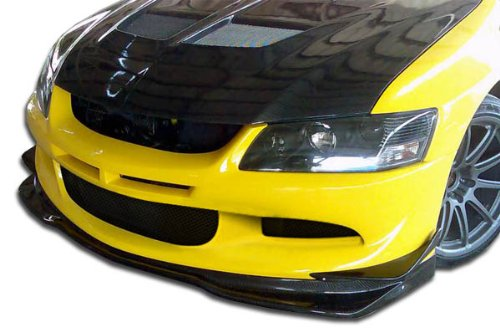 Carbon Creations Replacement for 2003-2005 Mitsubishi Lancer Evolution 8 VR-S Front Lip Under Spoiler Air Dam - 1 Piece