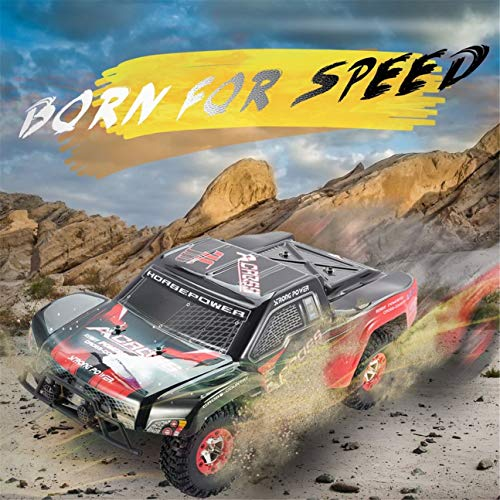 RC Auto kaufen Short Course Truck Bild 5: HIPENGYANBAIHU WLtoys Buggy Vehicle12423 12.01 2.4G 4WD High-Speed-Elektro Brushed Short Course Off-Road RTR RC Auto mit LED-Licht (Farbe: schwarz & orange)*