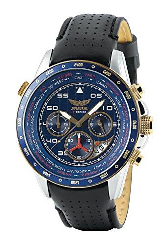 Reloj Aviator World Cities para Hombre-avw7770g262