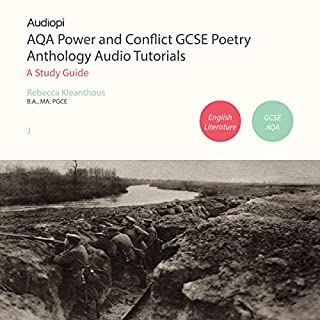 AQA Power and Conflict GCSE Poetry Anthology Audio Tutorials cover art