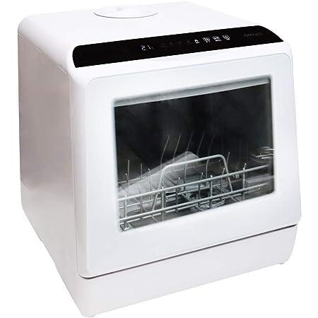 THANKO 水道いらずのタンク式食器洗い乾燥機 「ラクア」 (ホワイト) 2カラー