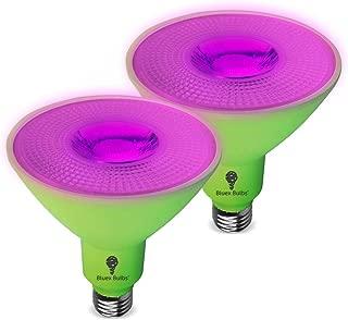 2 Pack 150W LED Grow Light Bulb PAR38 Flood Bulb - Full Spectrum Grow Lamp Grow Healthier & Yield Better Harvests for DIY Indoor Plants, Flowers, Greenhouse, Indore Garden, Hydroponic, BlueX